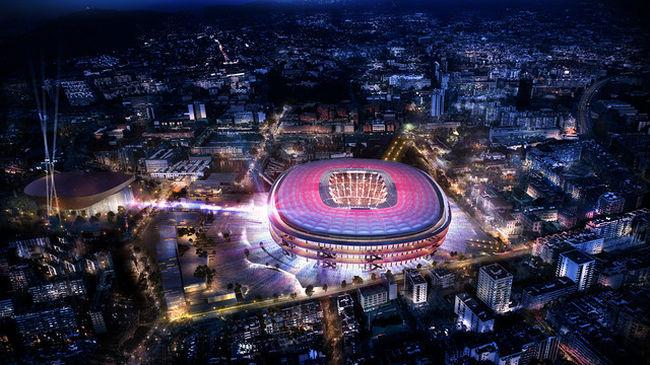 Ilyen lehet a Barcelona új stadionja