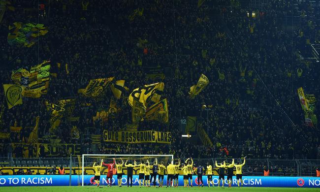 Angol szurkolók verekedtek Dortmundban