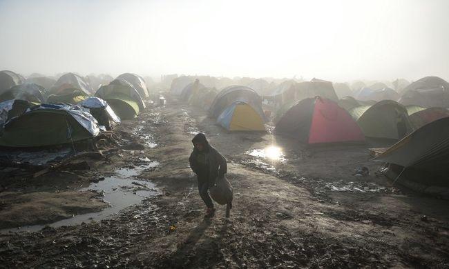 Több száz migráns önként elhagyta a görög menekülttábort