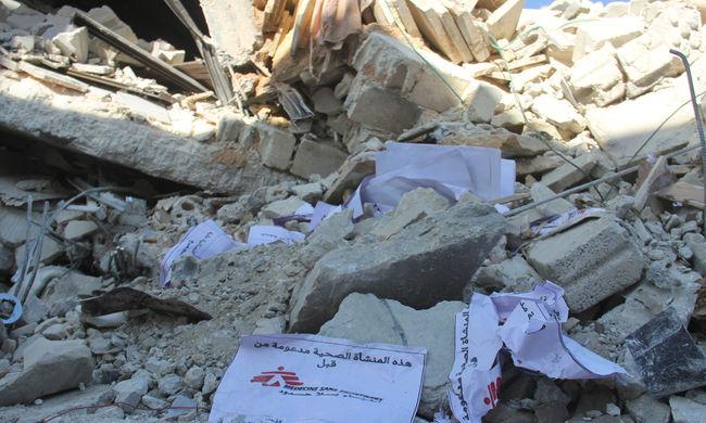 Több száz orvost és nővért öltek meg Szíriában