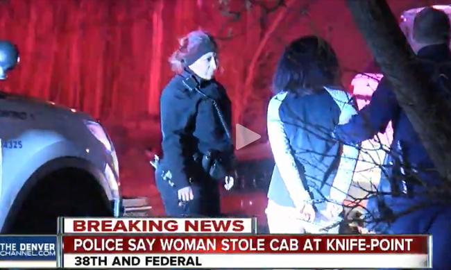 Késsel fenyegetve lopott el egy taxit, de előtte megmondta a sofőrnek, hova megy - videó