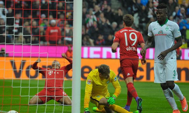 Nyert a Bayern München, három pont Dárdai csapatának az előnye a dobogón - videó