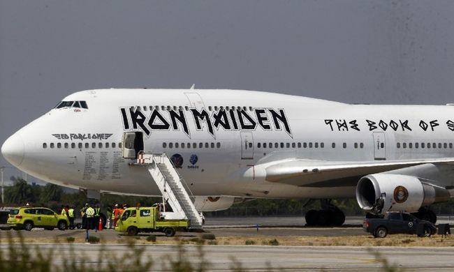 Balesetet szenvedett az Iron Maiden repülőgépe