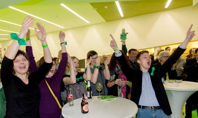 Nem Merkel pártja, hanem a Zöldek nyertek az egyik tartományban a német választáson az első eredménybecslések szerint