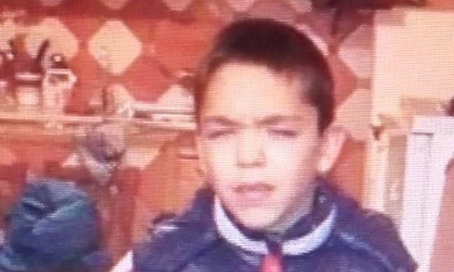 Eltűnt Bódi Erik, egy tízéves kisfiú