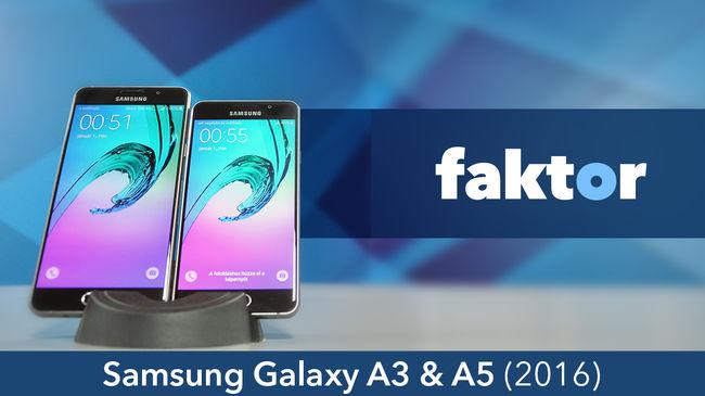 Ünnep a szemnek - Samsung Galaxy A3 & A5 (2016) teszt videóval