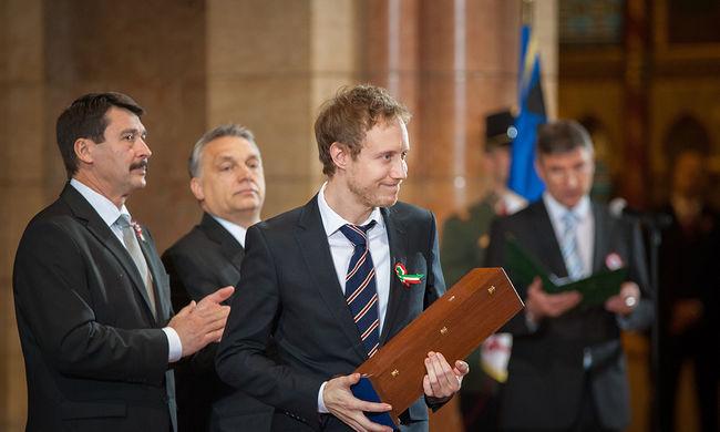 Átadták a Kossuth-díjakat: a Saul fia készítőit is kitüntették