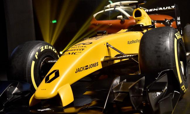 Forma-1: mégsem fekete, hanem sárga lesz az új Renualt - képgaléria!