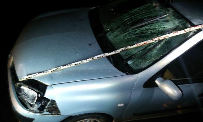 Össze-vissza kacskaringózott az úton, elütött egy biciklist és egy autónak is nekiment