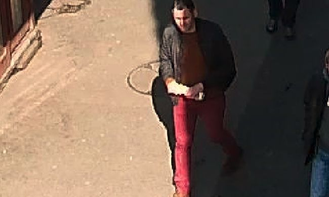 Pénzváltáskor lopott - őt keresi a rendőrség