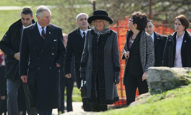 Szerbiába érkezett Károly herceg és felesége