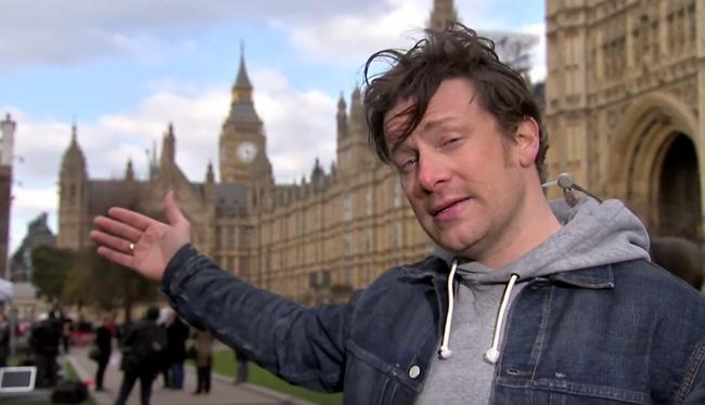 Jamie Oliver a brit cukoradó igazi megálmodója