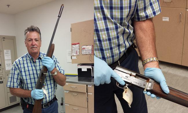 Ez a puska ölte meg Kurt Cobaint
