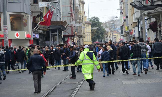 Öngyilkos merénylő robbantott Isztambulban - videó
