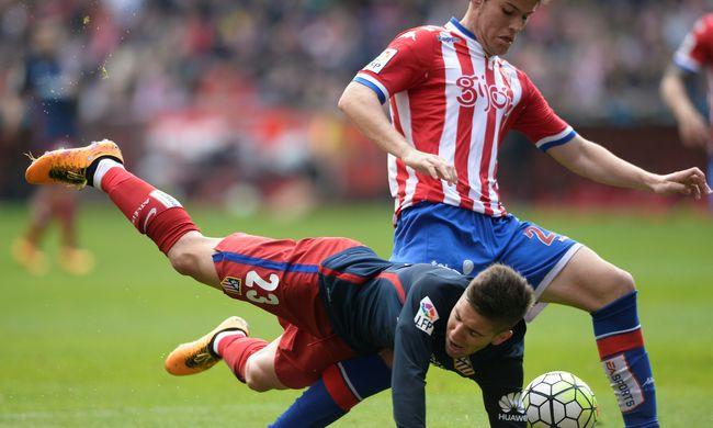 Hiába a tökéletes szabadrúgás, kikapott az Atlético Madrid