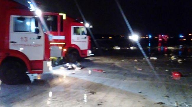 A baleset előtt már egyszer megpróbált leszállni az Oroszországban lezuhant gép