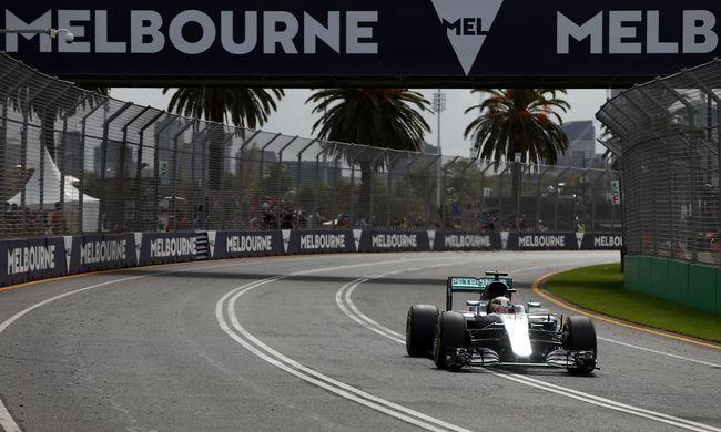 Hamilton indulhat az első helyről az Ausztrál Nagydíjon