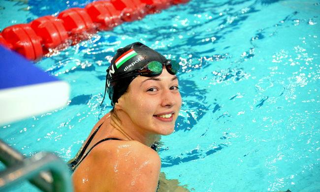 Ismét világcsúcsot úszott a magyar sportoló