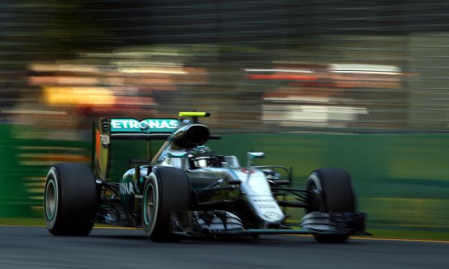 Rosberg nyerte a baleset miatt félbeszakadt versenyt - videó