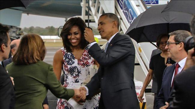 Obama Kubában: elkezdődött a történelmi látogatás