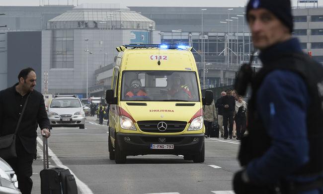 Kalasnyikovot és bombát is találtak a brüsszeli repülőtéren