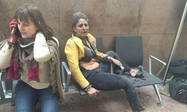 Terror Brüsszelben: már 21 halott, 35 sérült - videó