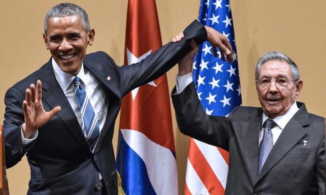 Az embargó feloldásáról és a változás szükségéről is beszélt Obama Kubában