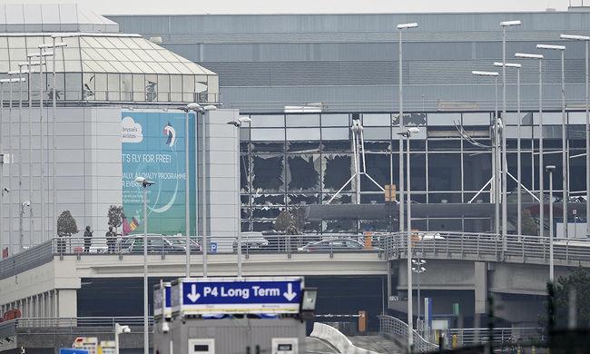 Vasárnap részlegesen újranyitják a brüsszeli nemzetközi repülőteret