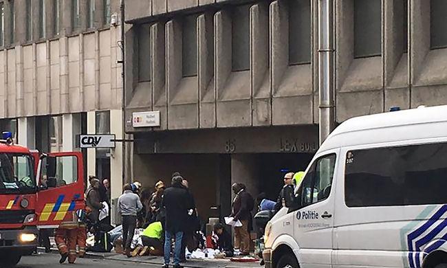 Szürreális és horrorisztikus volt - szemtanúk beszámolói a brüsszeli robbantásokról