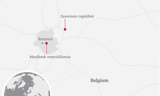 Brüsszeli robbantások: két magyar sérült, 21 halott