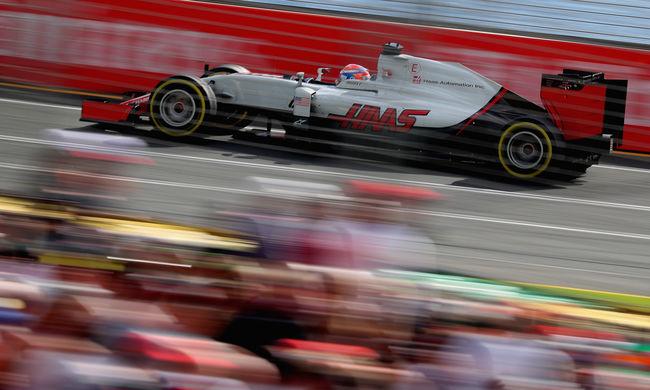 Grosjeant választották az Ausztrál Nagydíj legjobb versenyzőjének