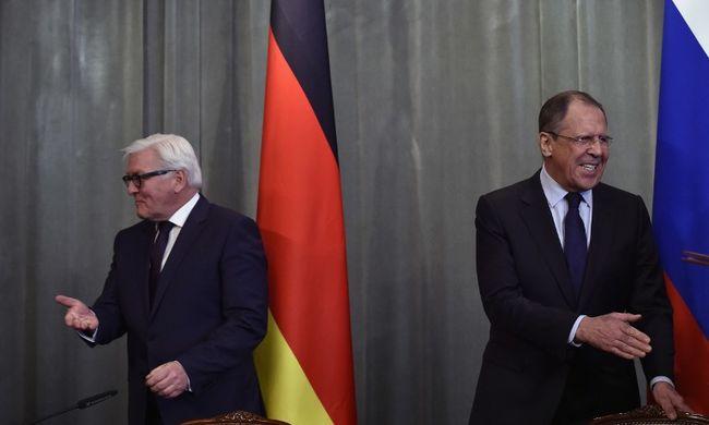 Orosz és német külügyminiszter: össze kell fogni a terror ellen