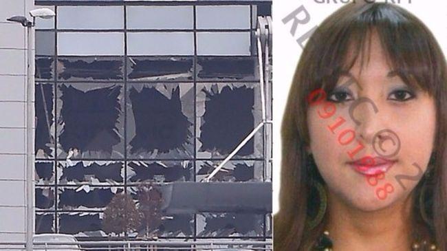 Ikerlányai szeme láttára robbantották fel a reptéren