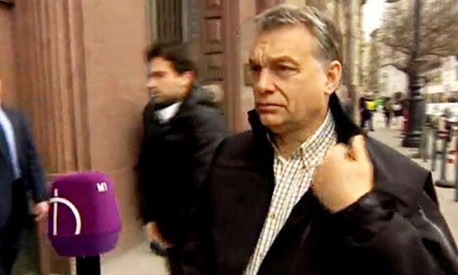 Orbán kockás ingben: ezzel akart üzenni?