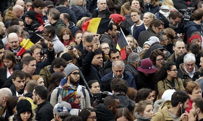 Egy perc csend Brüsszelért - képgaléria