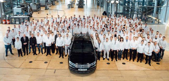 Nincs több Volkswagen Phaeton