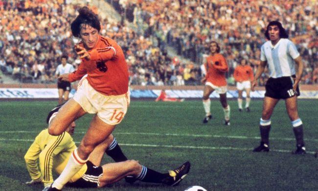 Meghalt Johan Cruyff