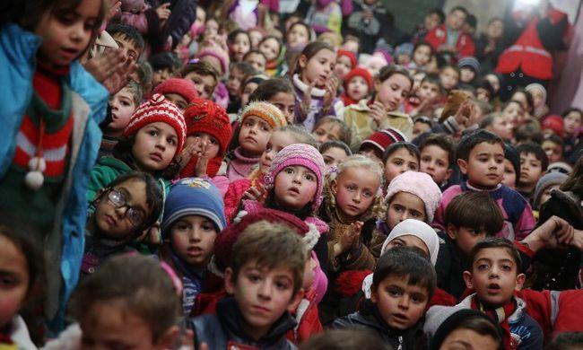 Unicef: 87 millió gyerek él félelemben