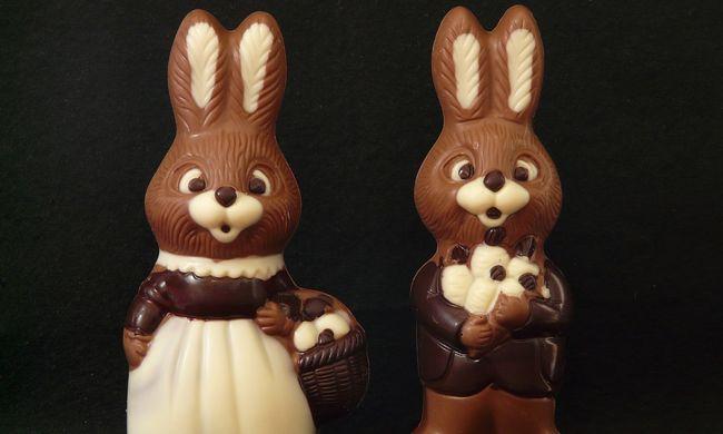 Bátran egyen a csokinyúlból, egészséges!