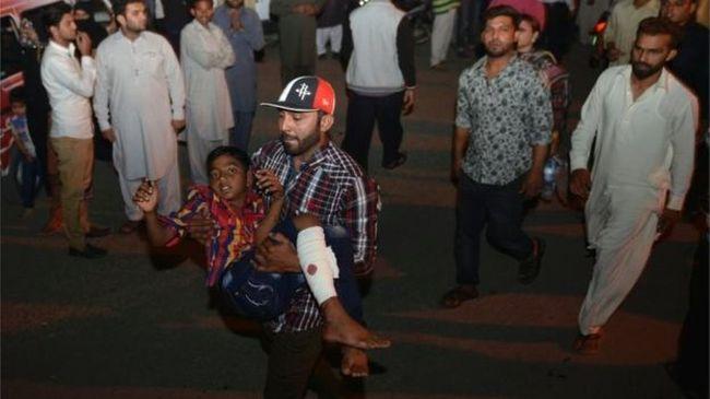Gyerekeket és nőket robbantottak fel