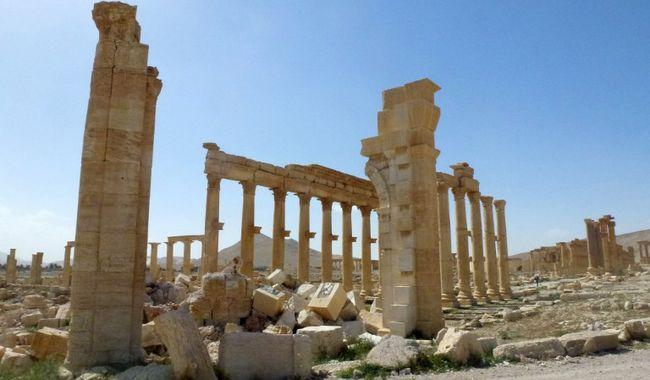 Túlélte az ókori romok nagy része az Iszlám Állam uralmát Palmürában