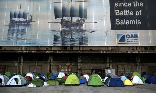 Molesztálás miatt volt tömegverekedés egy migránsszálláson