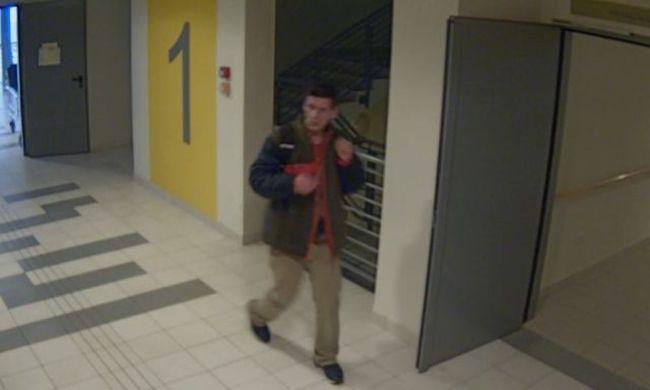 Nővérszobából lopott táskát, felvette a kamera