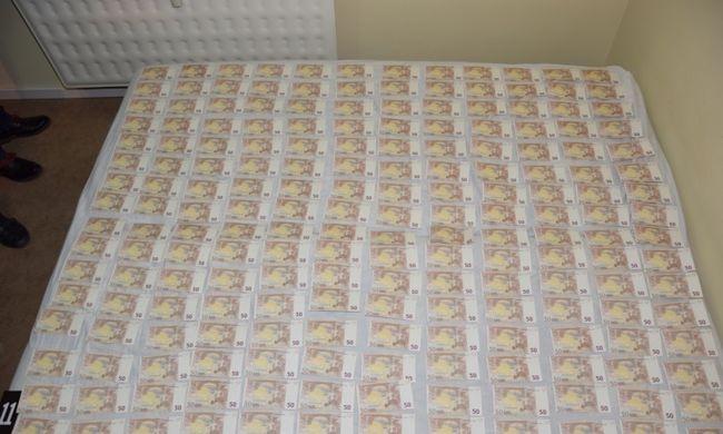 Már egy éve nyomtatta otthon a hamis eurókat, amikor egy kocsmában lebukott