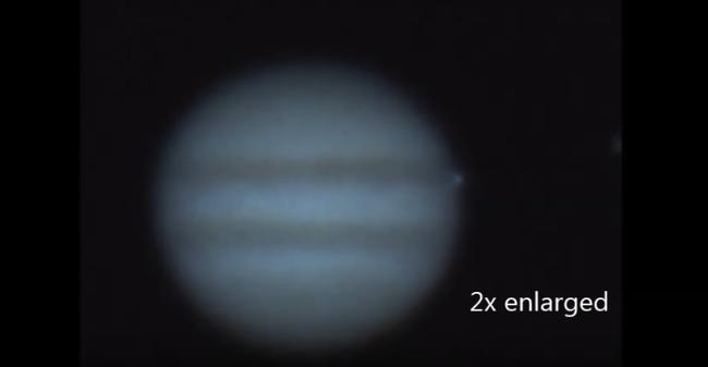 Jupiterbe csapódó aszteroidát vettek fel az amatőr csillagászok - videó