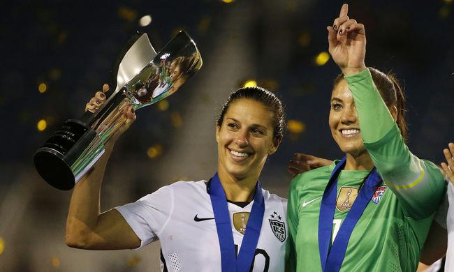 A legjobb női focisták bérdiszkriminációval vádolják a szövetséget