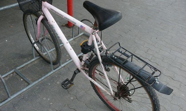 Bevásárlóközpont előtt találta meg az ellopott biciklijét