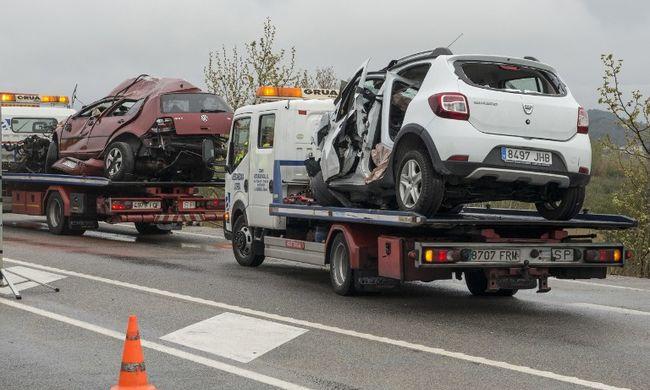Hét külföldi halt meg egy spanyolországi balesetben