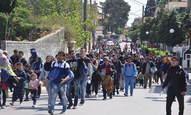 Migrációs válság: könnygáz, késelés és káosz Görögországban