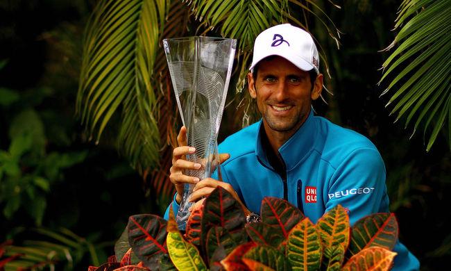 Senki nem keresett annyi pénzt még a tenisszel, mint Novak Djokovics